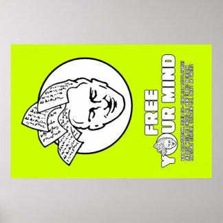 Bookhead Drzic frigör Poster