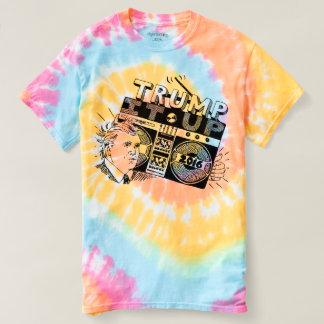 Boombox TRUMF virvlar runt DET UPP pastell T-shirt
