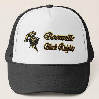Boonville svart Riddare-Hatt Truckerkeps