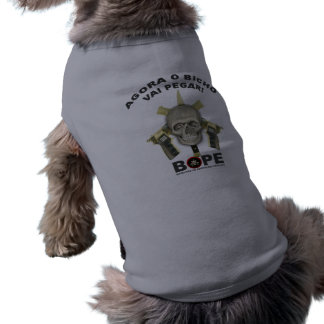 BOPE - Brasiliansk polis Husdjurströja