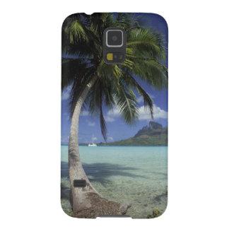 Bora Bora, franska Polynesia Mt. sedda Otemanu Galaxy S5 Fodral