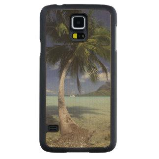 Bora Bora, franska Polynesia Mt. sedda Otemanu Maple Galaxy S5 Case