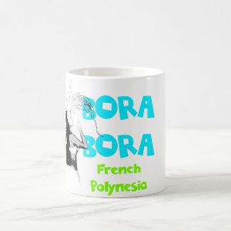 Bora Bora kvinnlig dansaremugg Kaffemugg
