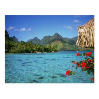 Bora Bora ö, franska Polynesia Vykort