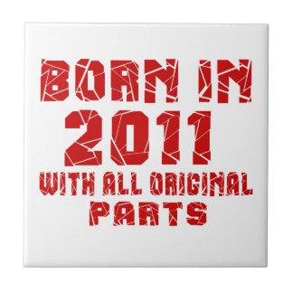 Bördig 2011 med alla original- delar liten kakelplatta