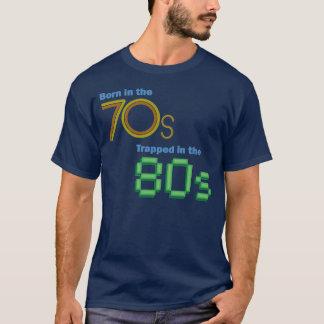 Bördigt 70-tal som fångas i 80-talT-tröja Tee