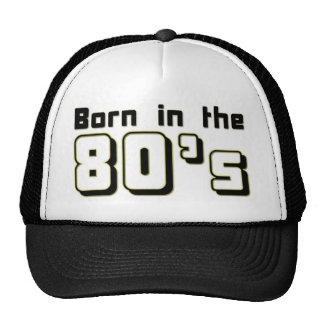 Bördigt 80-tal keps