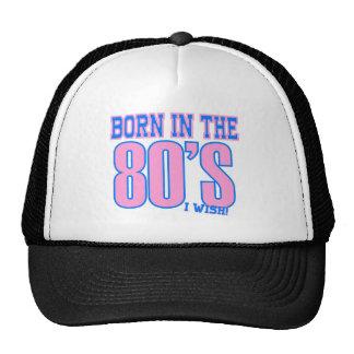 Bördigt 80-tal önskar jag roligt keps