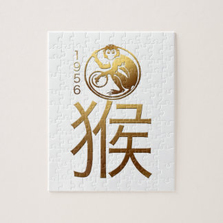 Bördigt apaår 1956 - kinesisk astrologi pussel