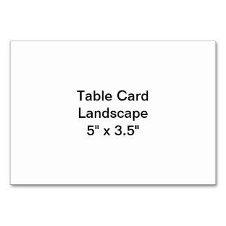Bordkortet landskap bordsnummer