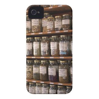 Bordlägger av örtburkar Case-Mate iPhone 4 skal