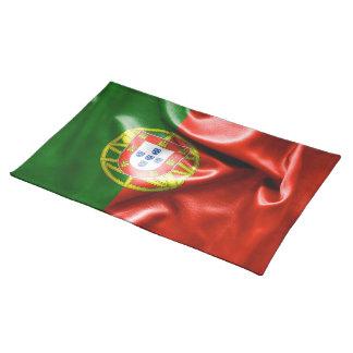 Bordstablett för Portugal flaggatrasa