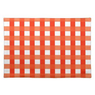 Bordstablett med orange- och vitkontroller