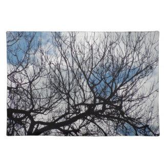 Bordstablett: Treetops i molnen Bordstablett