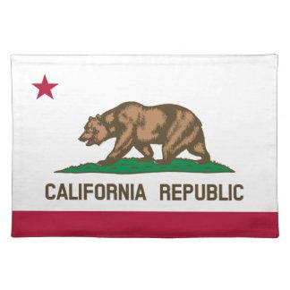Bordstabletter för Kalifornien republikstatlig