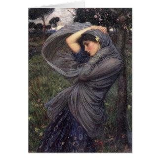 Boreas J.W. Waterhouse, 1903 Hälsningskort