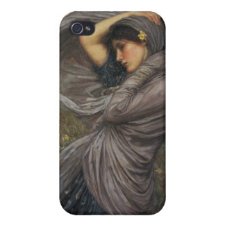 Boreas - John William Waterhouse iPhone 4 Cover