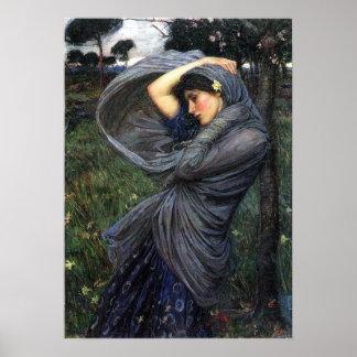 BoreasPre-Raphaeliteaffisch av John W. Waterhouse Poster