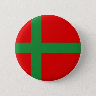 Bornholm Danmark Standard Knapp Rund 5.7 Cm