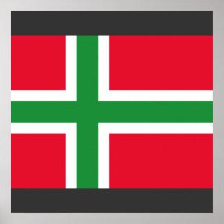 Bornholms et, Danmark Posters