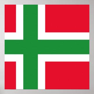 Bornholms et, Danmark Affischer
