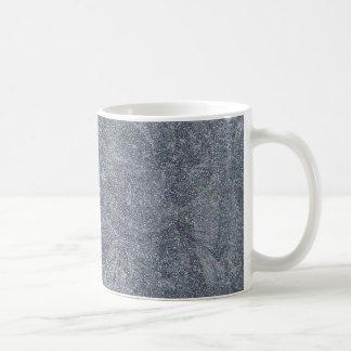 Borstad bakgrund för struktur för grå kaffemugg