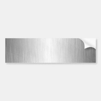 Borstad metallLookbildekal Bildekal