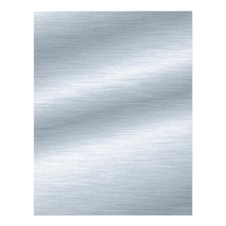 Borstad silverLookbakgrund Brevhuvud