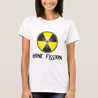 Borta Fissionutstrålningssymbol T-shirts