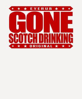 BORTA SCOTCH DRICKA - besatt WhiskyConnoisseur T-shirt