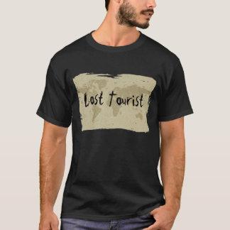Borttappad turist- t-skjorta för Olde världskarta Tee Shirt