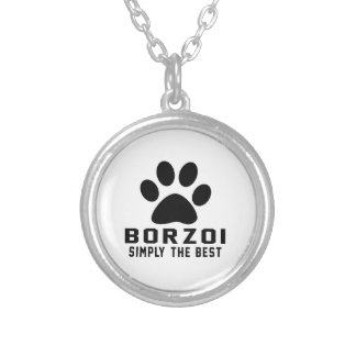 Borzoi enkelt det bäst anpassningsbar halsband