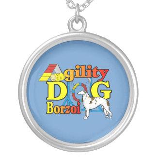 BorzoiAgility Silverpläterat Halsband
