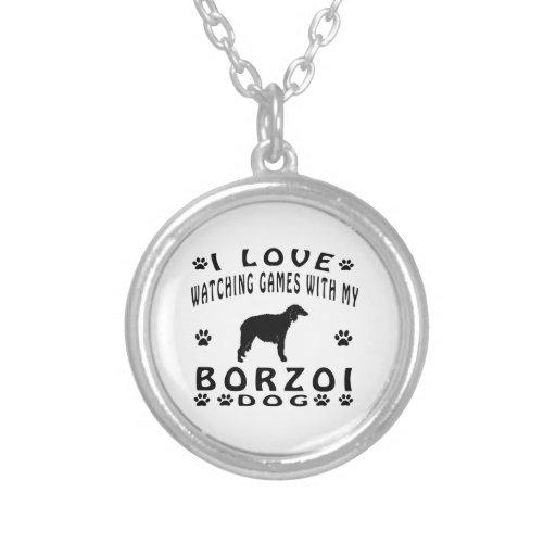 Borzoidesigner Anpassningsbar Halsband