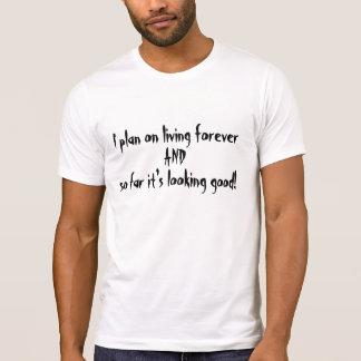 Bosatt för evigt tee shirt