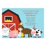 Boskapfödelsedagsfest inbjudan