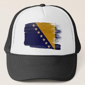 Bosnien och Hercegovina flaggatruckerkeps Truckerkeps