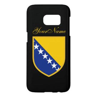 Bosnienflagga Galaxy S5 Skal