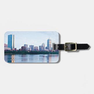 Boston baksidafjärd över Charles River Bagagebricka