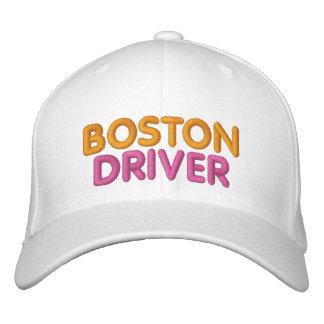 Boston chaufför broderad hatt