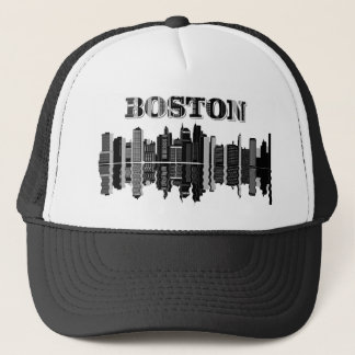 Boston horisonttypografi keps