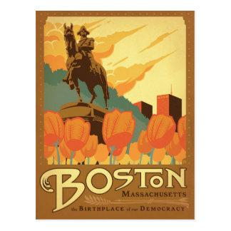 Boston MORSOR - födelseorten av vår demokrati Vykort