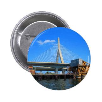 Boston överbryggar fotoet på gåvor standard knapp rund 5.7 cm