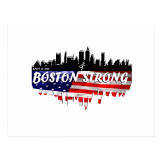 Boston stark springa vykort