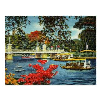 Boston svanfartyg vykort