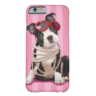 Boston Terrier Barely There iPhone 6 Fodral