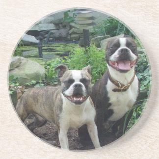 Boston Terriers, kustfartyg Underlägg Sandsten