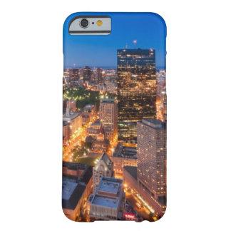 Bostons horisont på skymningen barely there iPhone 6 fodral