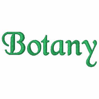 Botanik broderad skjorta
