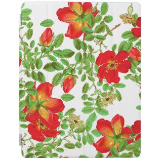 Botanisk kål steg blom- blommor iPad skydd